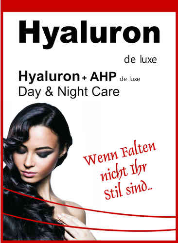 Hyaluron + AHP de luxe Day + Night