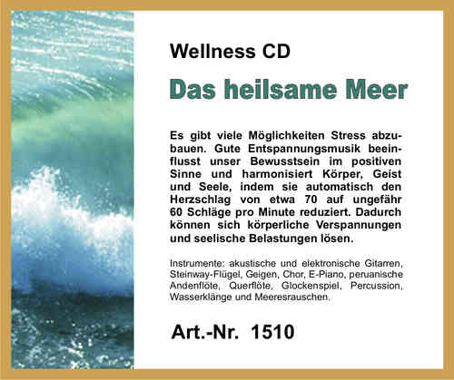 Wellness CD Das heilsame Meer